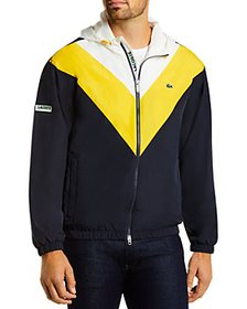 Lacoste - Colorblocked Hooded Jacket