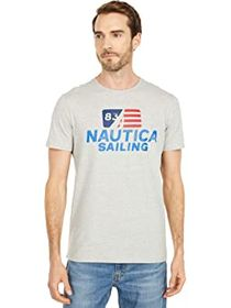 Nautica Tee Colored Flag