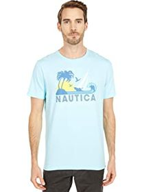 Nautica Tee Palm Tree Sun