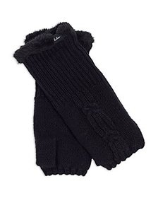 Echo - Cable Knit Fingerless Gloves - 100% Exclusi