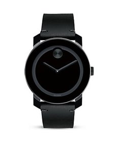 Movado - Movado BOLD Large Black TR90 and Stainles