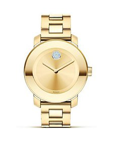 Movado - Movado BOLD Yellow Gold Ionic Plated Muse