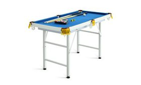 Costway 47'' Folding Billiard Table Pool Game Tabl