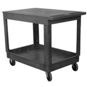 Wesco Standard Plastic Flat-Top Service Cart with