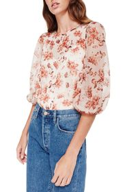 CAMI NYC Penny Vintage Floral Blouse