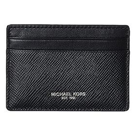 Michael Kors Michael Kors Black Men's Card Case Wa