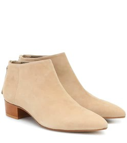 Max Mara Altes suede ankle boots
