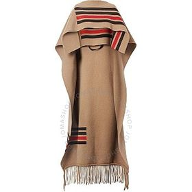 Burberry Burberry Fringed Cape
