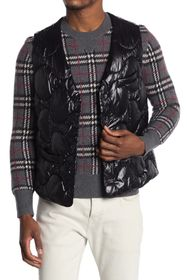 Burberry Quilted Puffer Tailored Vest