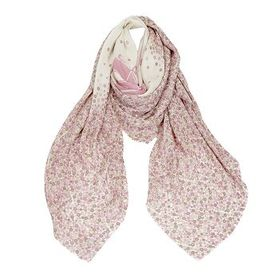 Coach Coach Pink Oversized Square Scarf