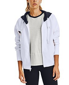 Women's Rival Fleece Colorblocked Zip Hoodie