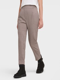 Donna Karan HIGH WAISTED PLEAT PANTS WITH SIDE TAB