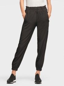 Donna Karan RELAXED JOGGER WITH PERFORATED SIDE PA