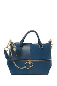 See By Chloe Emy Two-Tone Suede & Leather Stachel