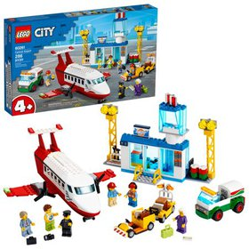 LEGO City Central Airport 60261 Building Toy for K