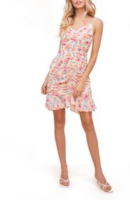 ASTR the Label Ruched Cami Minidress