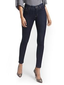 Lexi High-Waisted Super-Skinny Ankle Jeans - New Y