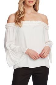 Vince Camuto Off-the-Shoulder Bell Sleeve Blouse