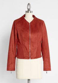 Molly Bracken Make Way for My Moped Jacket Red