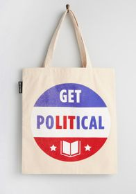 Out of Print Out of Print Get Lit on Politics Tote