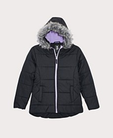 Toddler Girls Quilt Puffer Coat