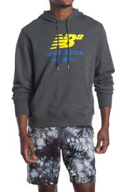 New Balance Logo Stacked Hoodie