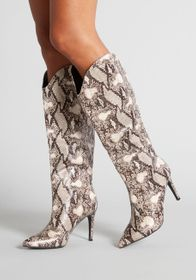 Chinese Laundry City S-s-s-s-licker Boot SNAKESKIN
