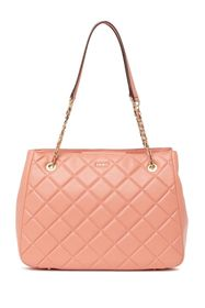 DKNY Barbara Quilted Leather Tote Bag