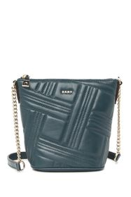 DKNY Allen Small Leather Bucket Bag