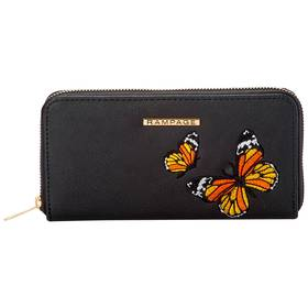 Womens Rampage Embroidered Butterfly Wallet
