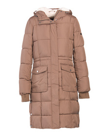 Women's Faux Fur Hood Heavyweight Coat
