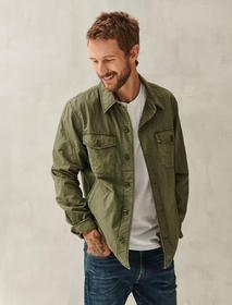 Lucky Brand Quilted Shirt Jacket