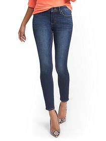 Lexi Mid-Rise Super-Skinny Ankle Jeans - New York