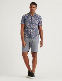 Lucky Brand Chambray Flat Front Short
