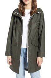 Levi's Water Repellent Lightweight Hooded Raincoat