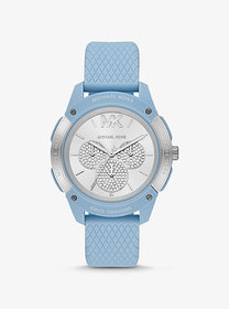 Michael Kors Oversized Ryder Embossed Silicone and