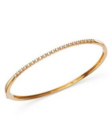 Bloomingdale's - Diamond Bangle in 14K Yellow Gold