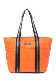Nautica Leah Quilted Logo Tote Bag