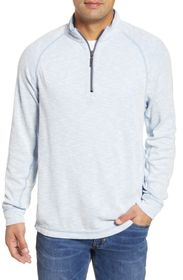 Tommy Bahama Barrier Beach Reversible Half Zip Pul