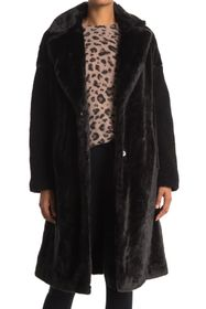 Nine West Faux Fur Coat