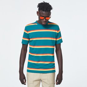 Oakley Four Stripes Short Sleeve Tee - Forest Town