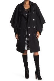 Burberry Puff Sleeve Trench Coat