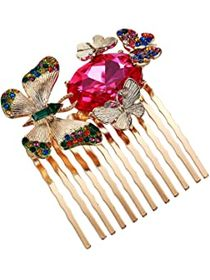 Betsey Johnson Butterfly Hair Comb