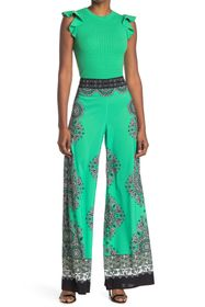alice + olivia Athena Wide Leg Pants