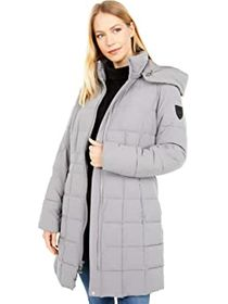 Vince Camuto Heavy Puffer with Stretch and Hood V2