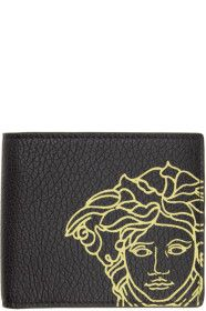 Versace - Black Pop Medusa Bifold Wallet