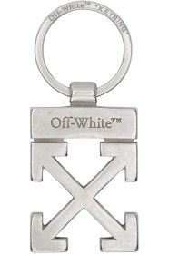 Off-White - Silver Arrows Keychain
