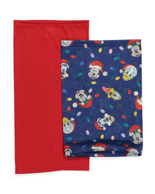 DISNEY Kids Set Of 2 Mickey Holiday Gaiters