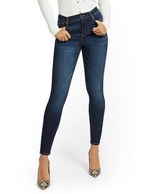 High-Waisted Curvy Skinny Jeans - New York & Compa