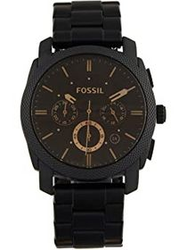 Fossil Machine Three-Hand Watch